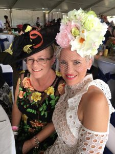 Mum and I at the races