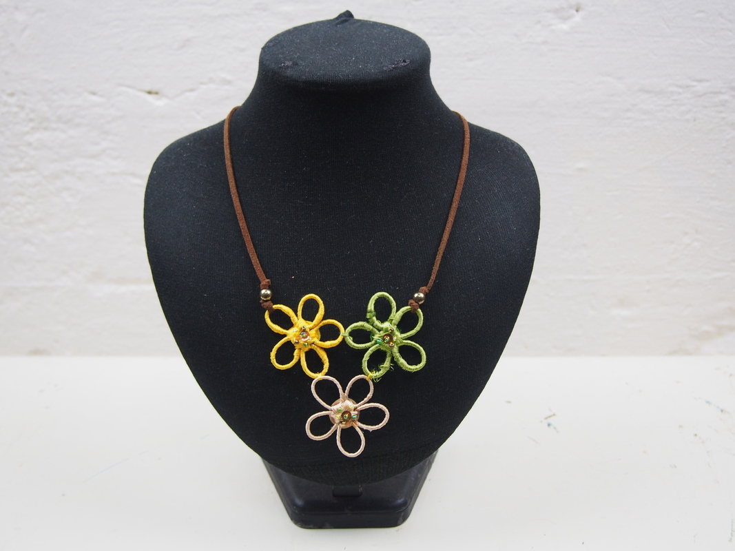 Triple Flower Necklace