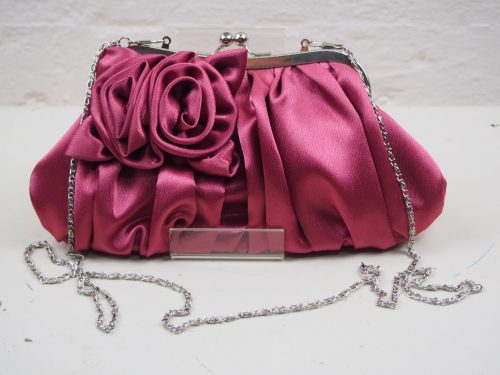 Braxton Rose Clutch