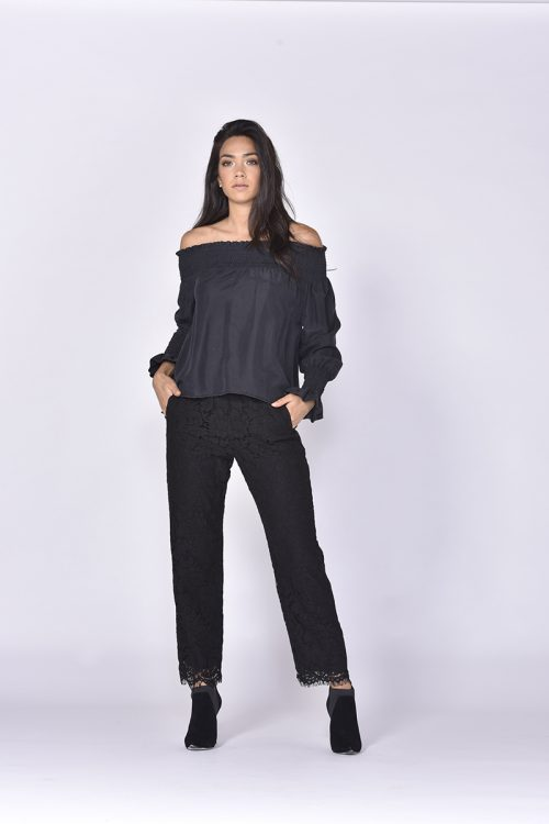 Matisse Silk Blouse - Black