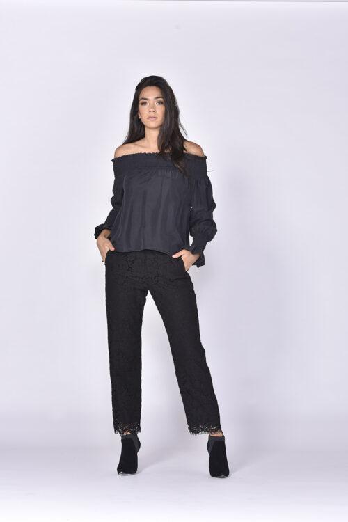 Matisse Silk Blouse - Black