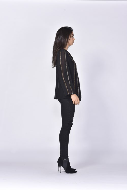 Fara Blouse - Black - FATE