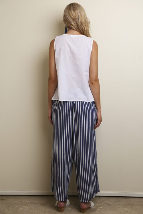 Bloo Striped Easy Pants