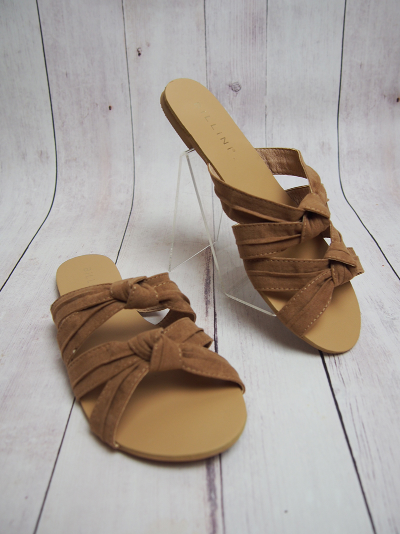 Movida Suede Shoes - Tan