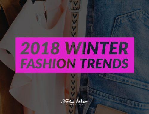 Winter Fashion Trend 2018
